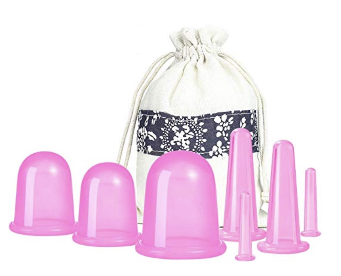 cupping set (for circulation/cellulite)