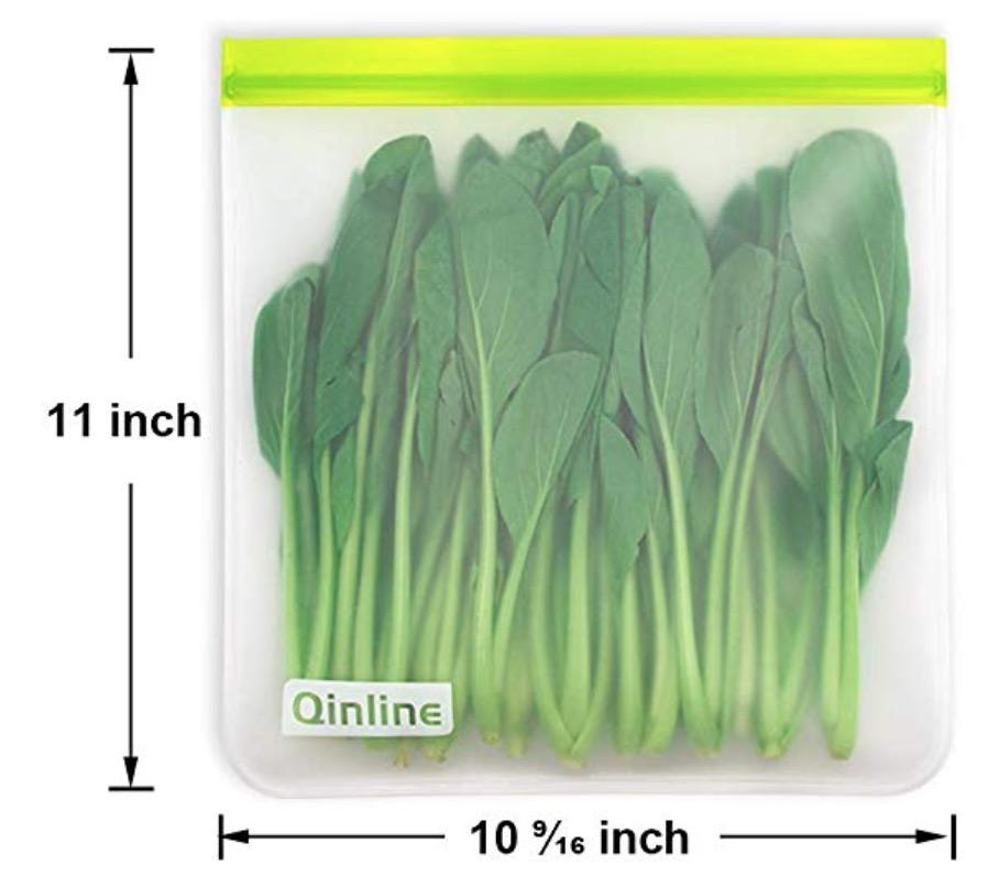 reusable freezer meal bags
