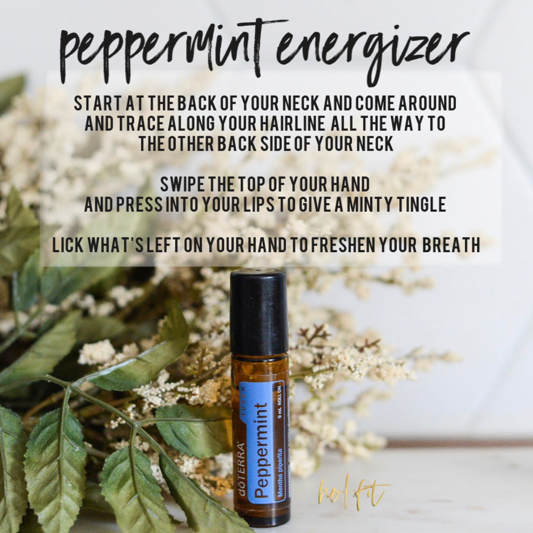 HOL:FIT peppermint energizer