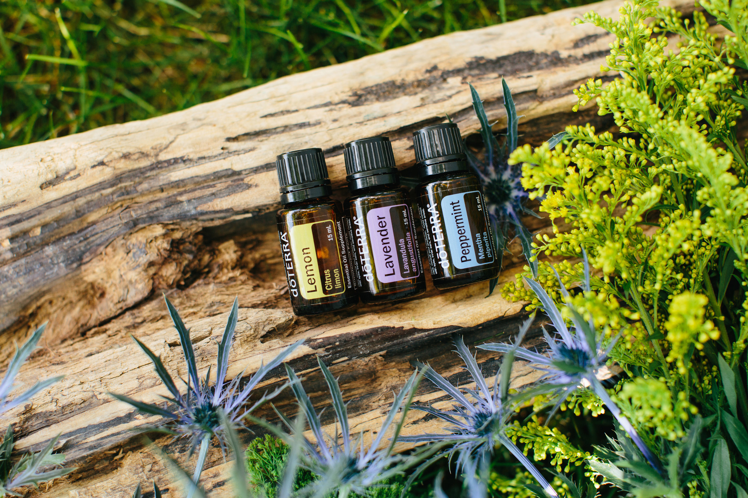 ways to use all 3 oils together: -