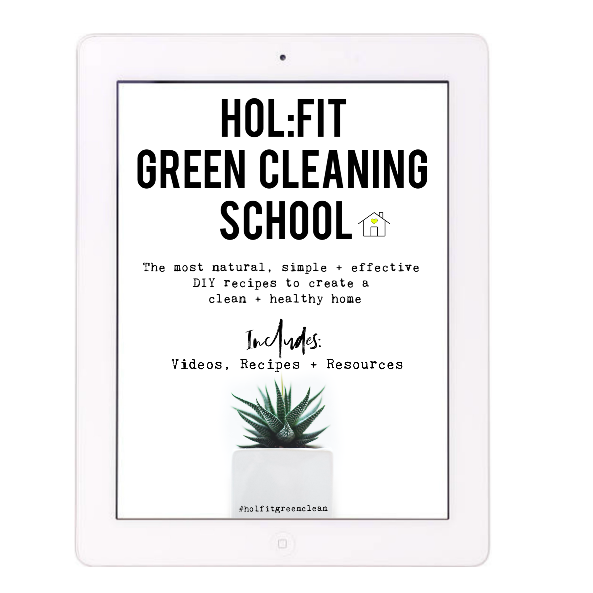 green cleaning ebook - Everything you need to never have to buy another cleaner again! Over 40 pages of content including all the DIY recipes, videos of how to make, shopping lists etc.