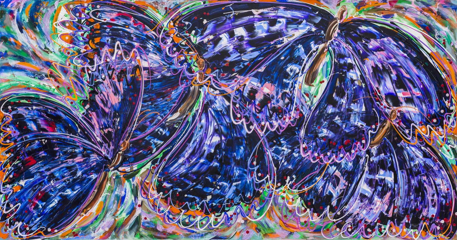 Unnamed Butterfly, Jessica Watson Thorp, 2016, 178x96cm, Acrylic on Canvas.jpg