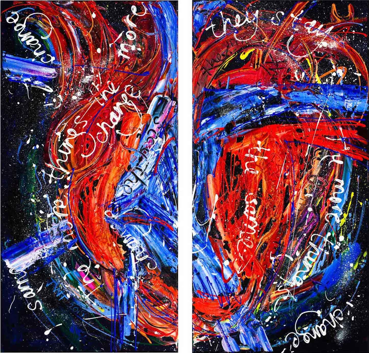 Change, Same 2, Jessica Watson Thorp, 2015, 83x80cm, Acrylic on Canvas.jpg.jpg