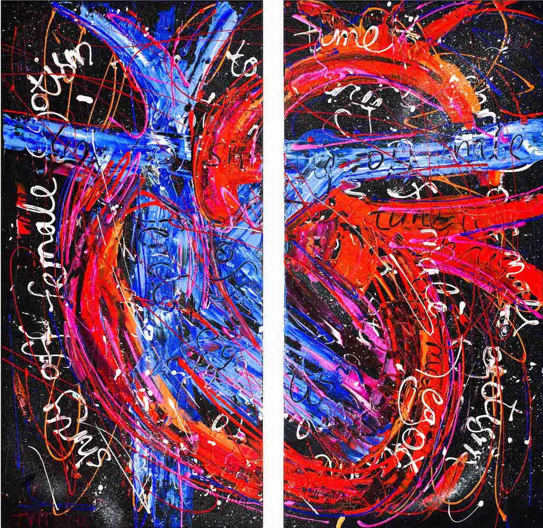 Time to Shrug Off, Jessica Watson Thorp, 2015, 83x80cm, Acrylic on Canvas.jpg