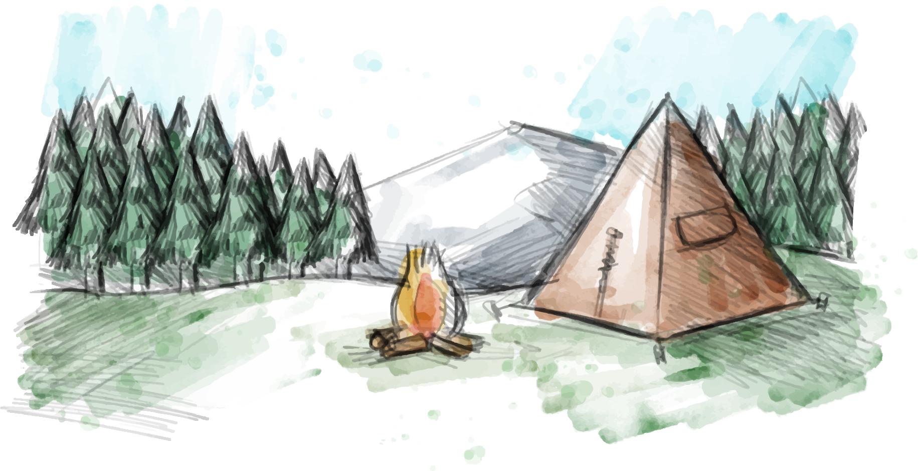 kisspng-madrean-pine-oak-woodlands-camping-watercolor-pain-watercolor-graffiti-5a917677c42f92.6356751315194824878036.png