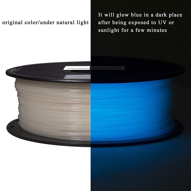 Glow in the Dark Blue (PLA) -