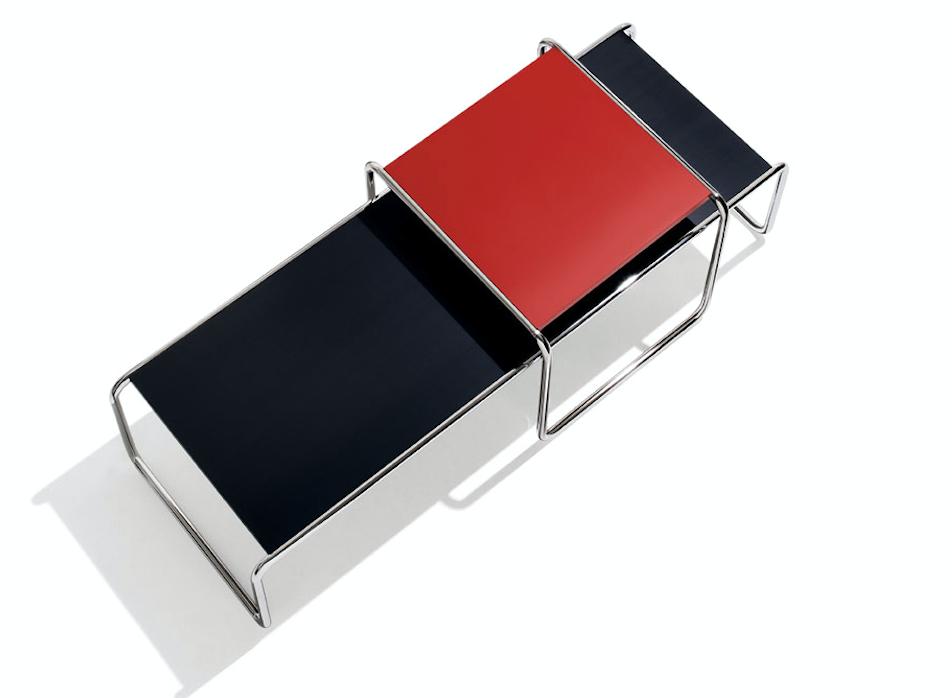 Marcel Breuer Laccio Tische - in der neuen Trendfarbe ROT ab 290 €