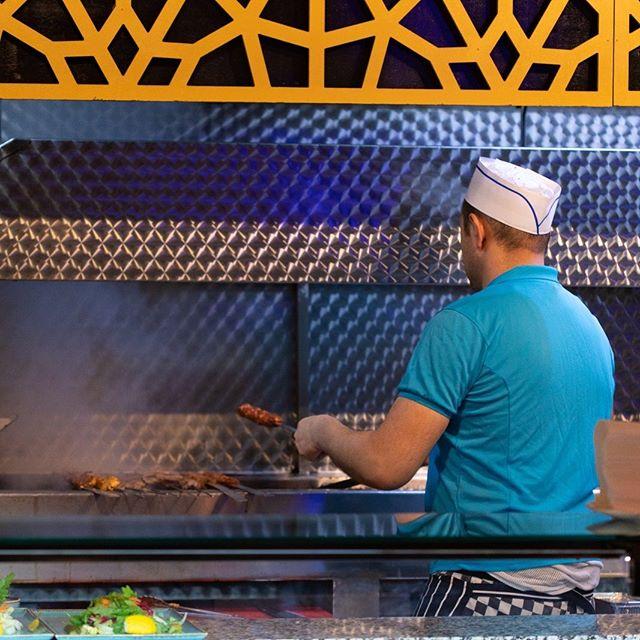 The art of cooking meat over hot coal! @hoshrestaurant