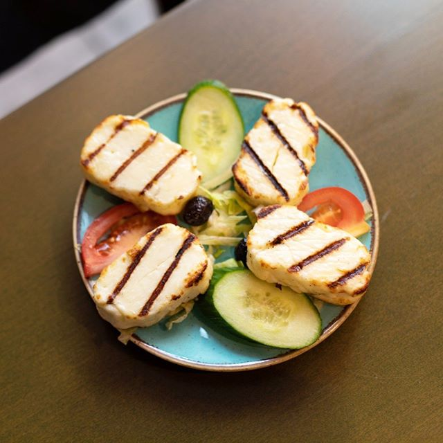 Have a grilled #halloumi kinda Wednesday @hoshrestaurant