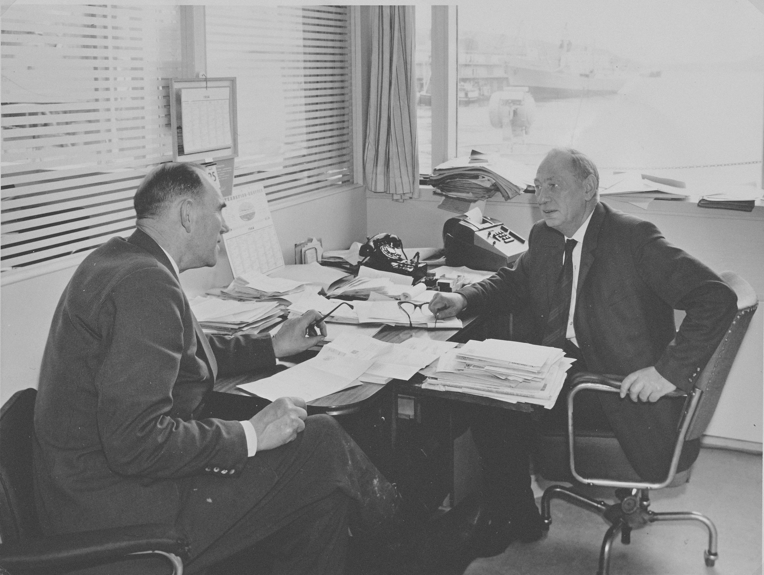 Elias Fjeldstad og Hallvard Ler+©y april 1964_from client.jpg