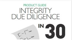 Integrity due diligence in 30 points   Read Article →