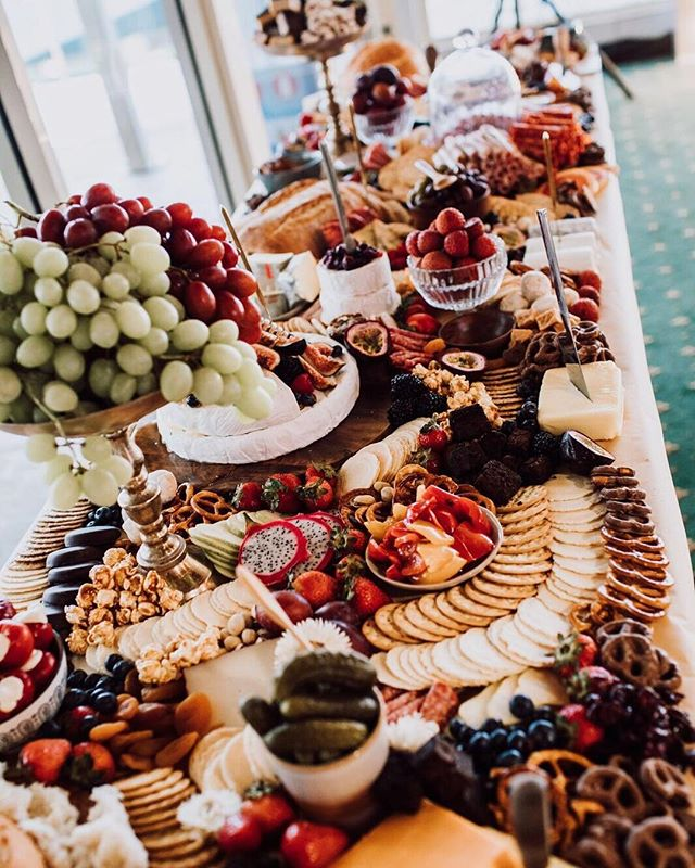 Yummy scrummy wedding table for your Sat'dee morning 👅 🍇  dm, email or visit our site (undergoing a slight rebranding) to get a quote for your event! Start planning early guys, we get dates booked out pretty quick 👏🏼 • • #grazingtable #graze #weddingplatter #weddingcaterer #newcastlecater #newcastlefood #newcastlevendor  #weddingreceptionideas #weddingpackage #bridesmaids #bridalshower #bridalshowerdecor #bridalshowerideas  #bacheloretteparty #bacheloretteweekend #hensinspo #hensparty #henspartyfun #weddinginspo #weddinginspirations #weddinginspiration #weddingphotographer #newcastle #hunterregion #centralcoast #newcastlevenue #newcastlewedding