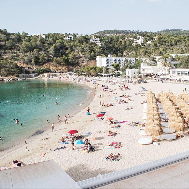 A slice of Ibiza heaven ☁️ • #mayabeachclubibiza #ibiza #ibiza2018 #calavadella #ibizabeach #beach #ibizavibes #vacation #islandlife