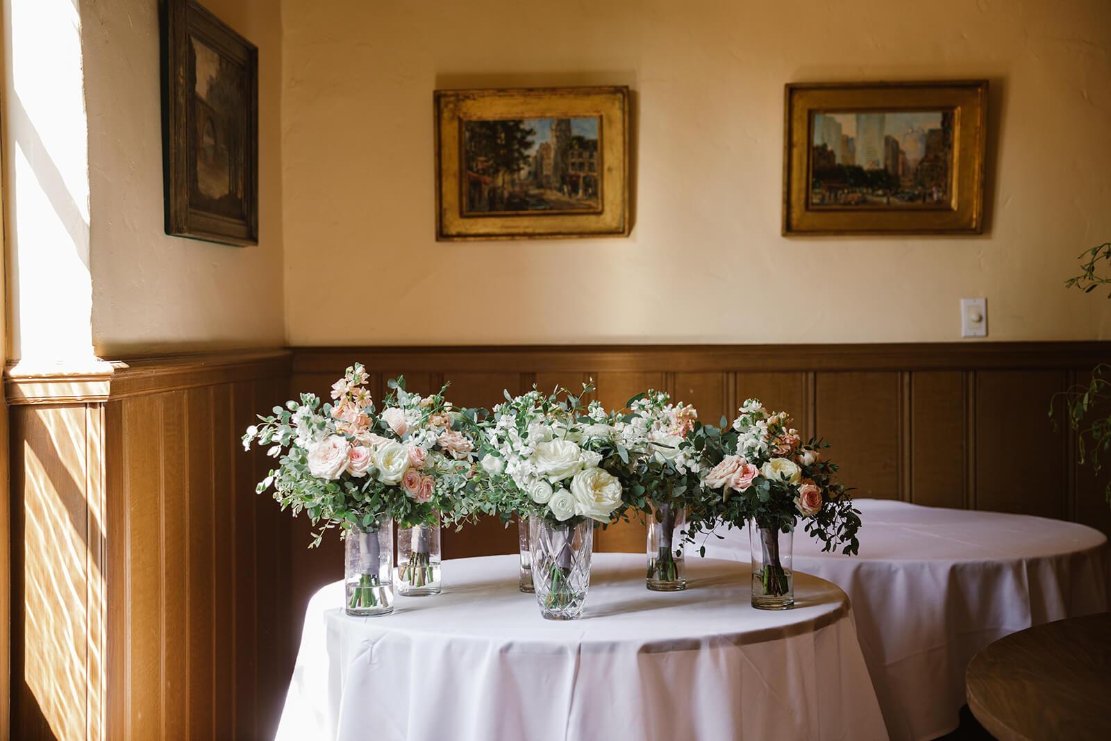 Bridesmaids & Bridal Bouquet