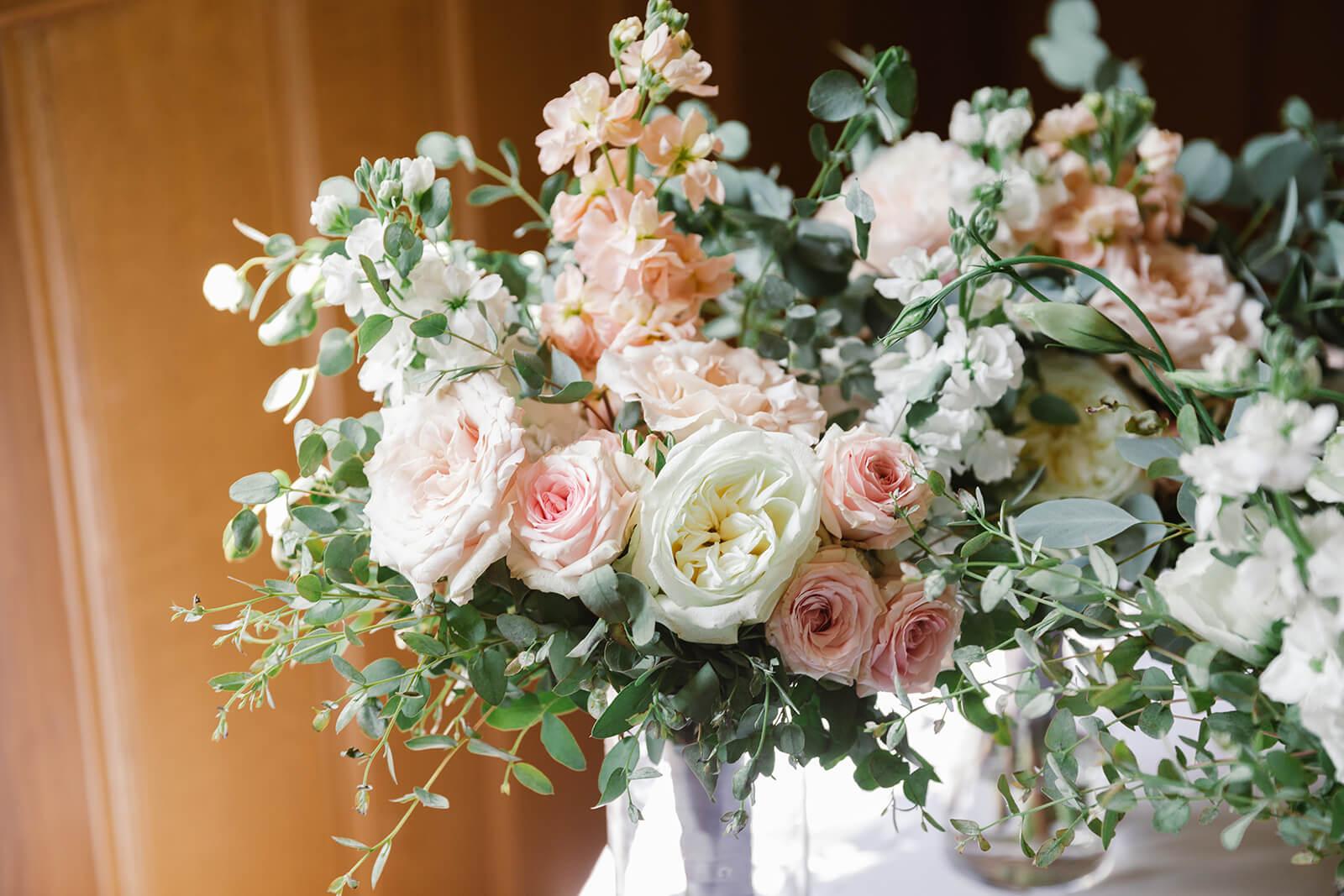 Close up of Bridesmaids Bouquet