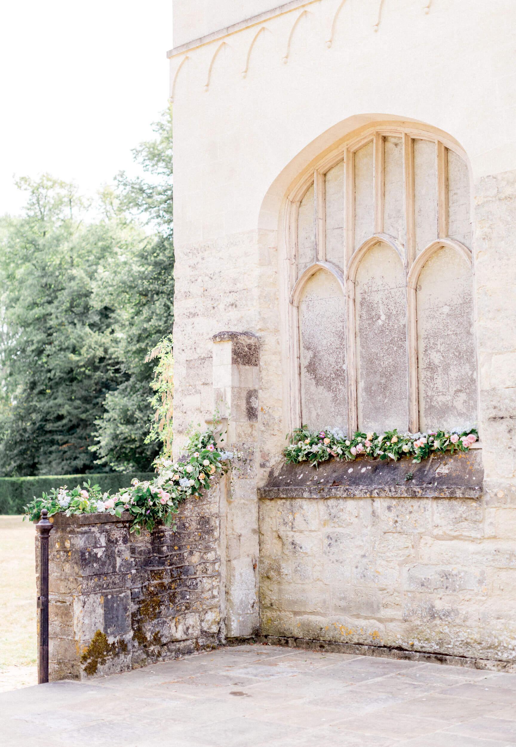 Nether Winchendon House Flower Courtyard