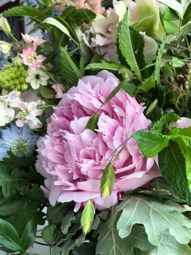 Peony Spring Wedding Flowers