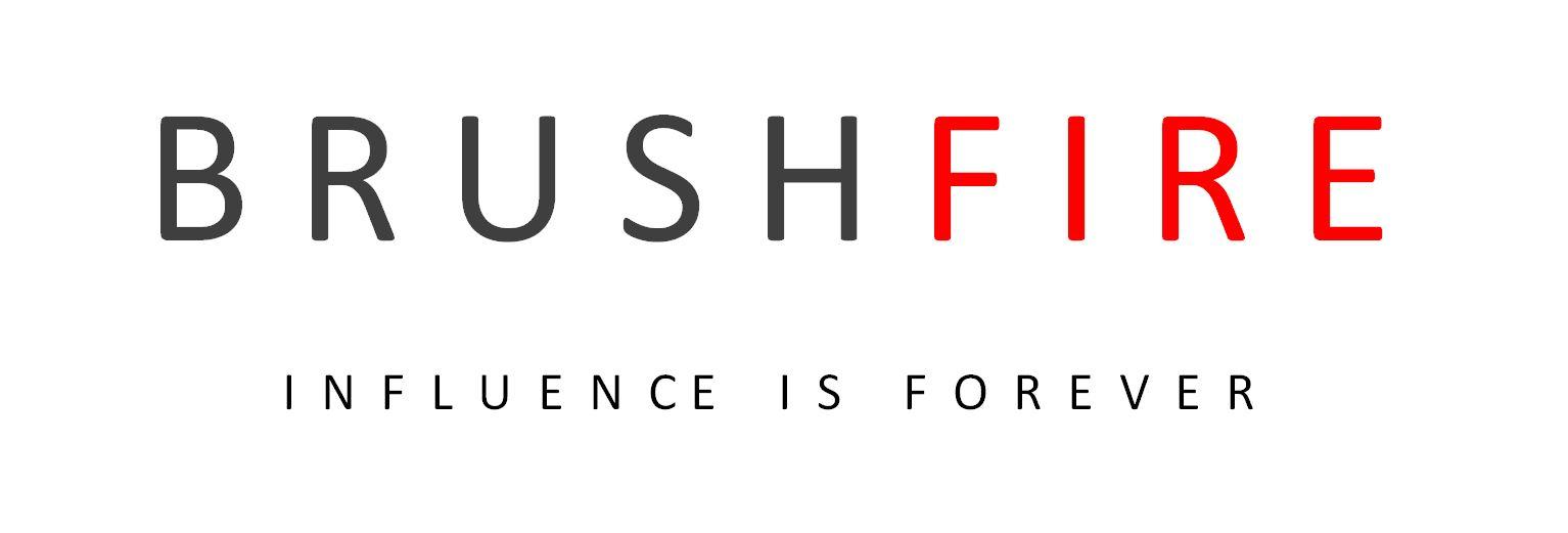 BRUSHFIRE influence is forever logo snip.JPG