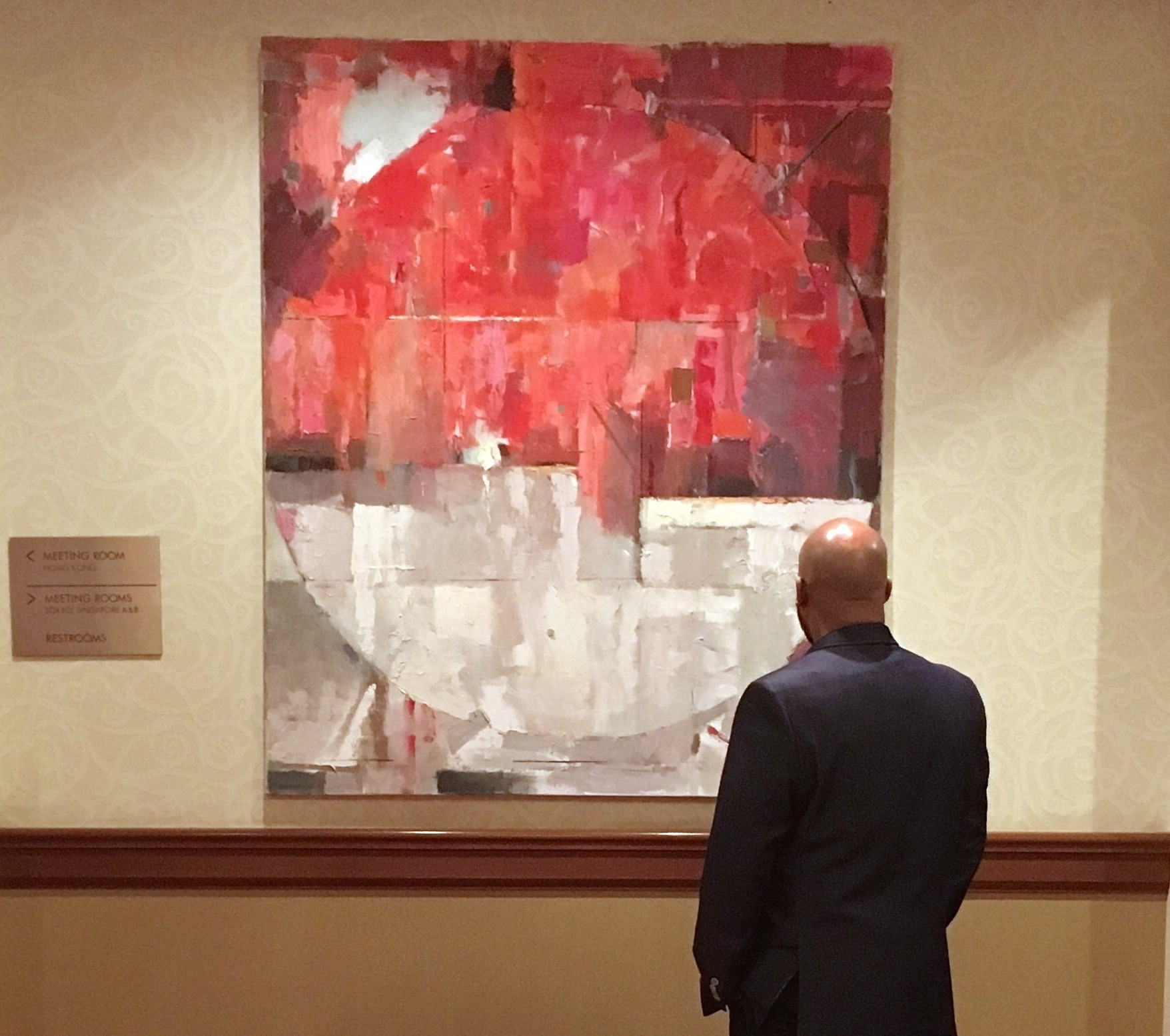 ABSTRACT ART IS MUSIC FOR YOUR EYES -