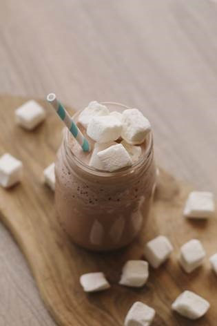 Frozen Hot Chocolate Milkshake -