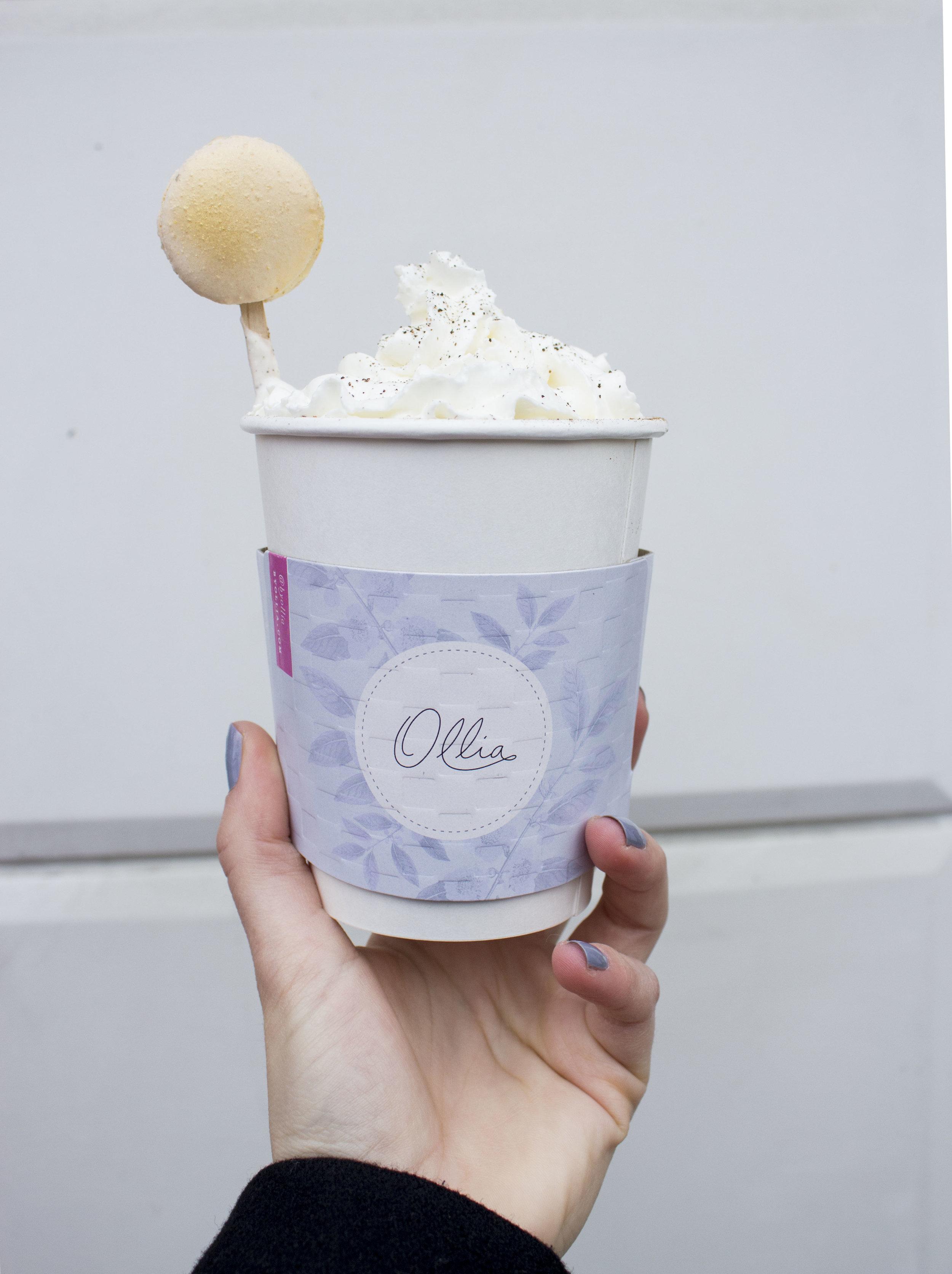 Chocolate Chai Macaron -