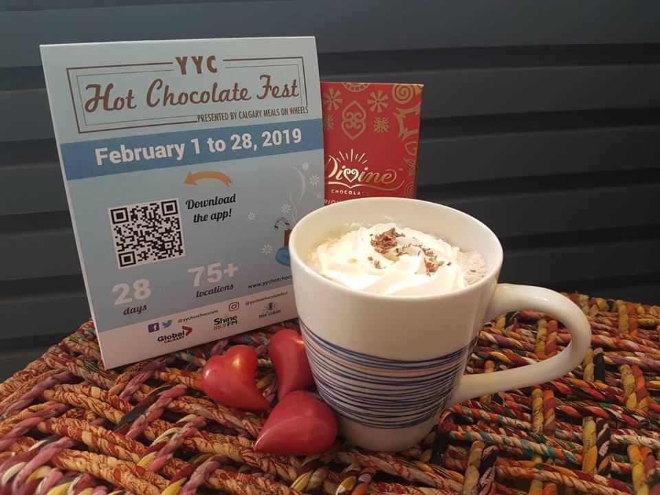 Maple Hot Chocolate -
