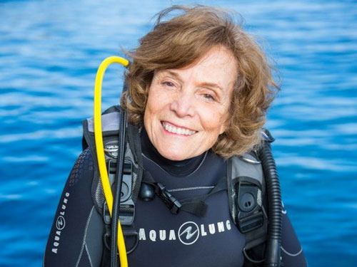Dr. Sylvia Earle - for your profound commitment to educating people about the oceans and marine life and creating a global network of marine protected areas. Read More...