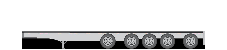 5 Axle 48' Heavy Trailers -