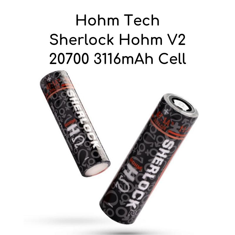 Hohm Tech's Sherlock Hohm 20700 Battery
