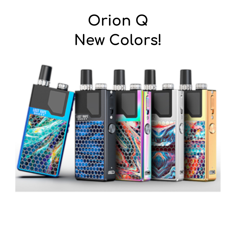 New Orion Q Colors
