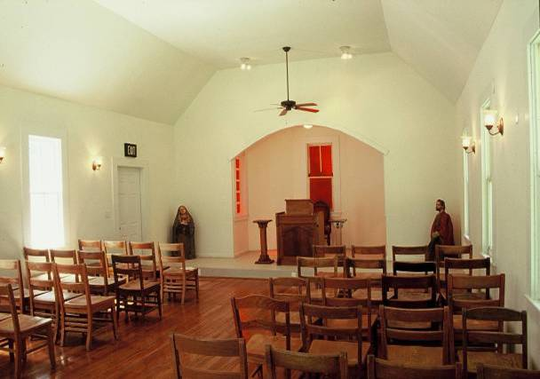 White Oak Chapel after renovation