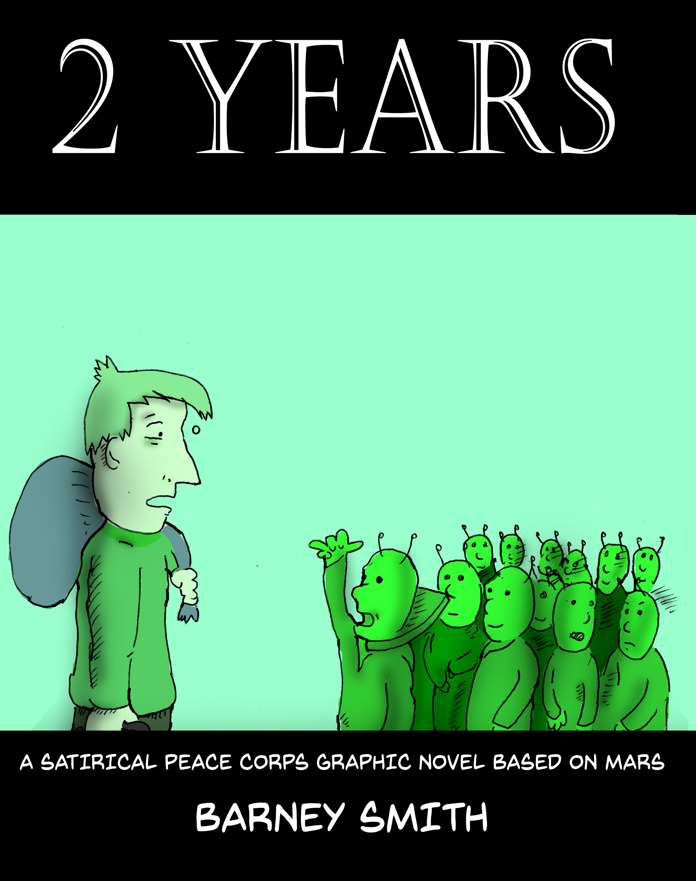 2 Years (Color version) $45 (238 pages) Coming Soon! -