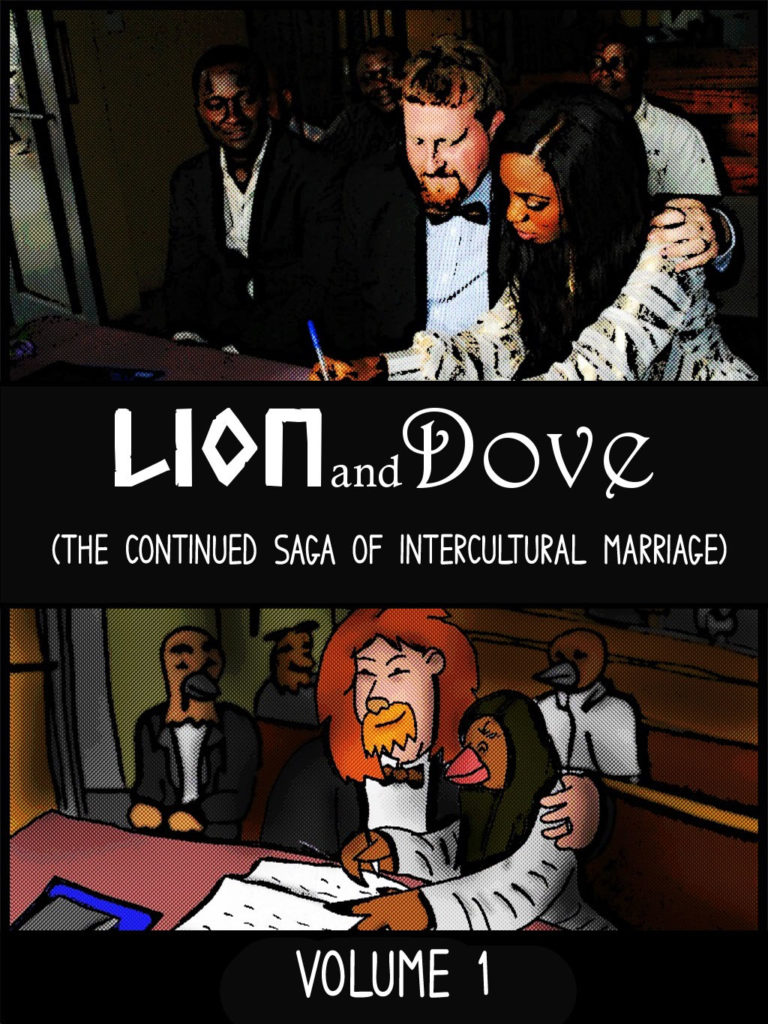 Lion and Dove (Volume 1) Color Version - $40 (182 Pages) -