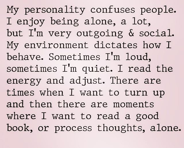 Can anyone relate to this?? 💕  I am definitely what you would call an introverted extrovert!!! I love connecting with my friends, but I also need equal time just chillin' by myself. 💕 I feel like people replenish themselves by being around people or being alone. 💕 Which one are you?? . . . #thespiritualbombshell #spiritualjourney #spiritualawakening #positivevibes #positivity #theuniversehasyourback #lightisthenewblack #atribecalledbliss #risesisterrise #lightworker #earthangel #goddess #priestess #atlantis #lumeria