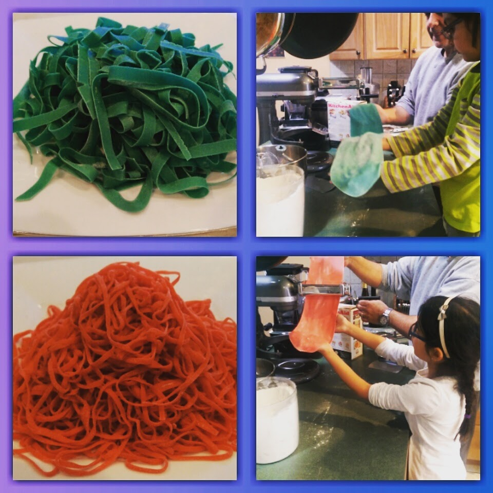 Making Pasta with the Kids!
