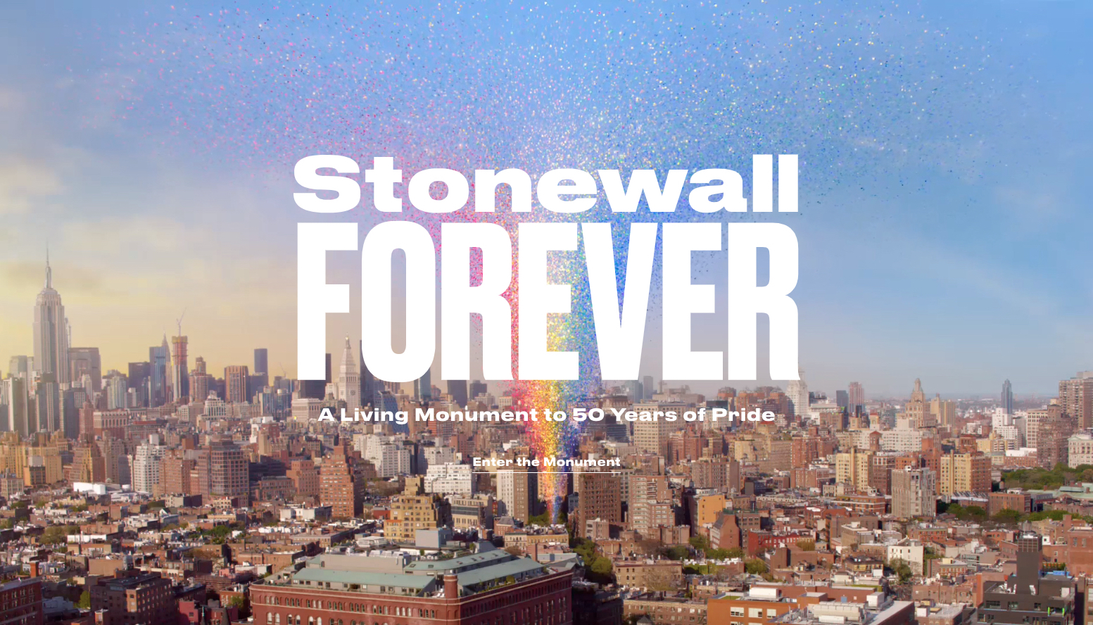 STONEWALL FOREVER - Stonewall Forever is a beautiful website that serves as
