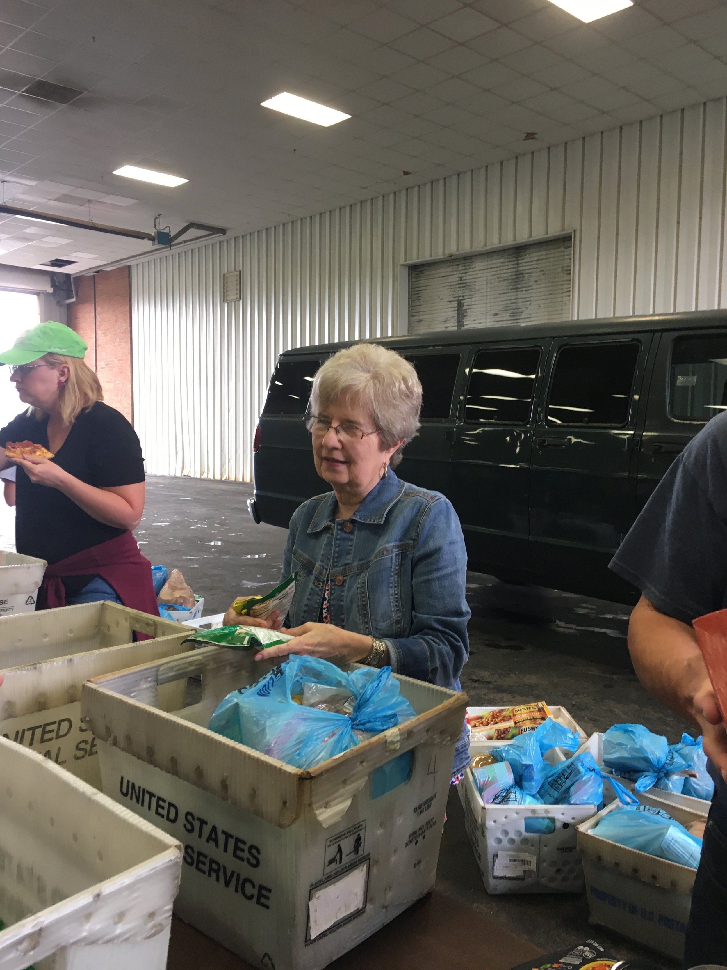 Cinco Days of Service 2019-Stamp Out Hunger
