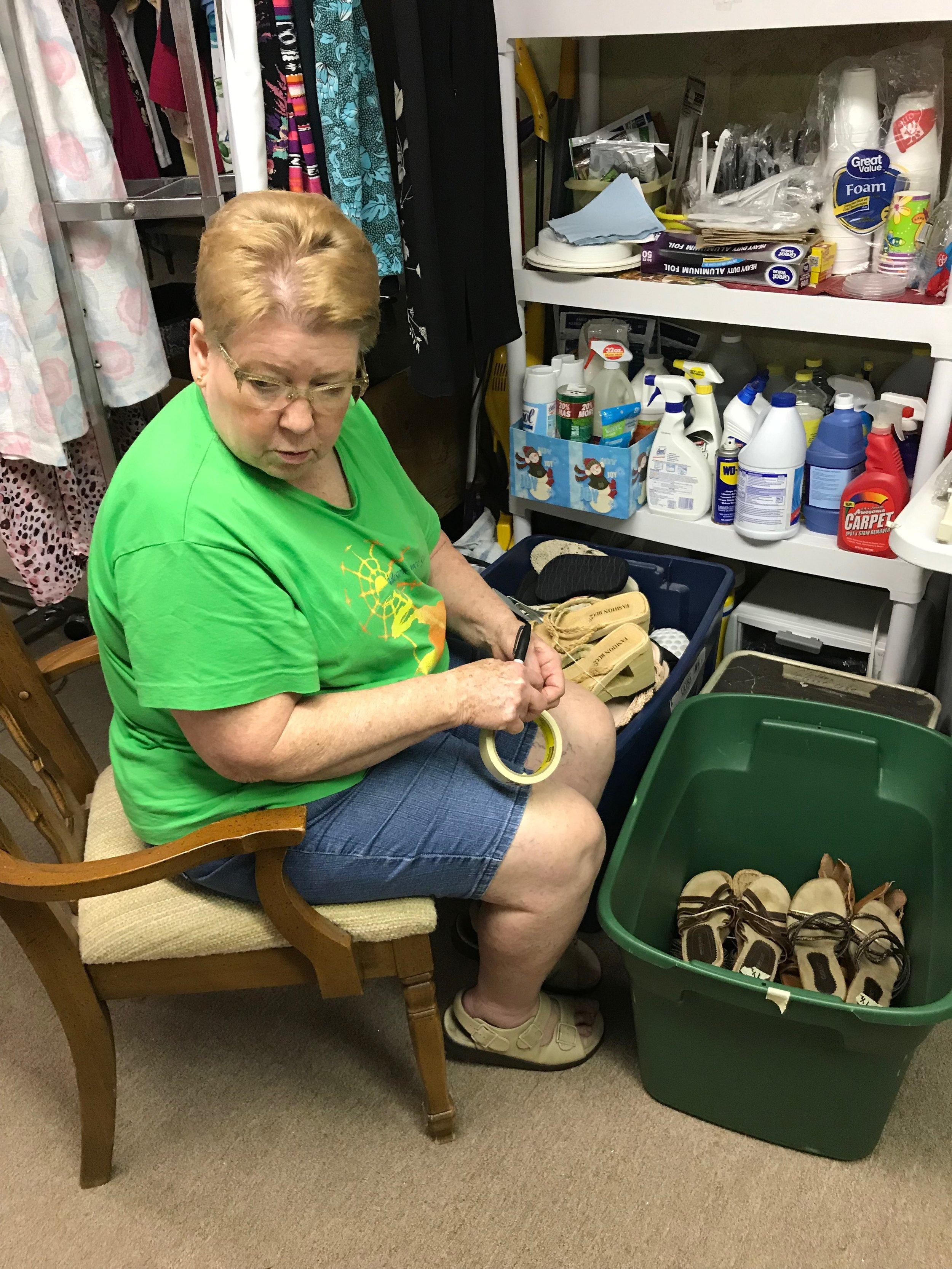 Cinco Days of Service 2019-Ms. Dorsey's Clothes Closet