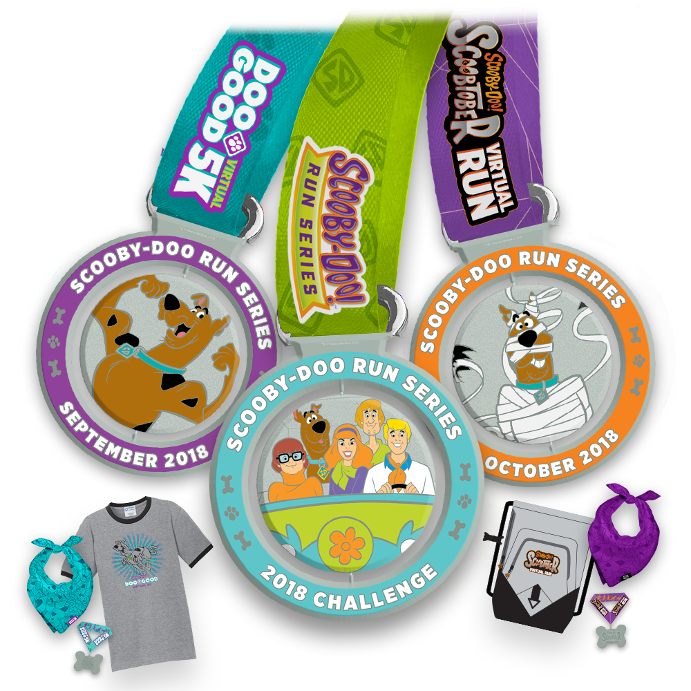 Register for both races and get the official race products! - Dog add-ons optional.
