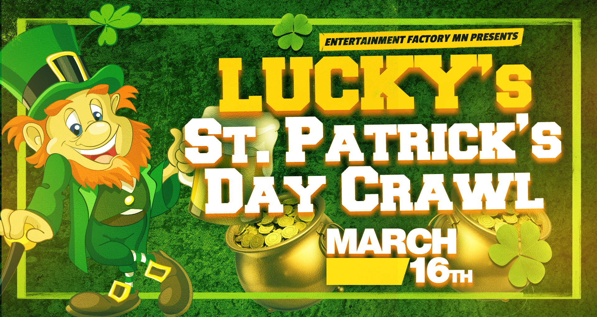 Lucky's St Patrick's Day Crawl