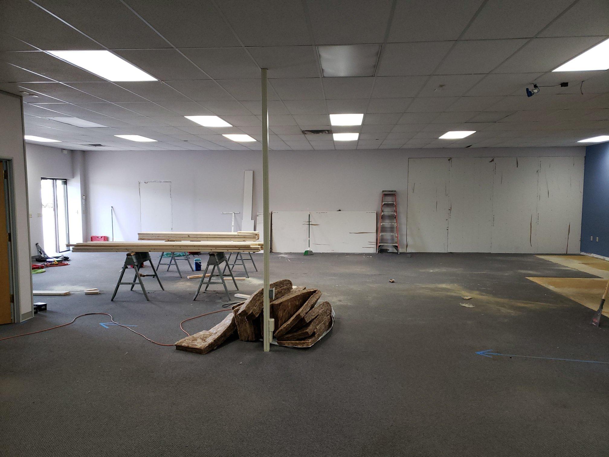 - New Studio in Progress!