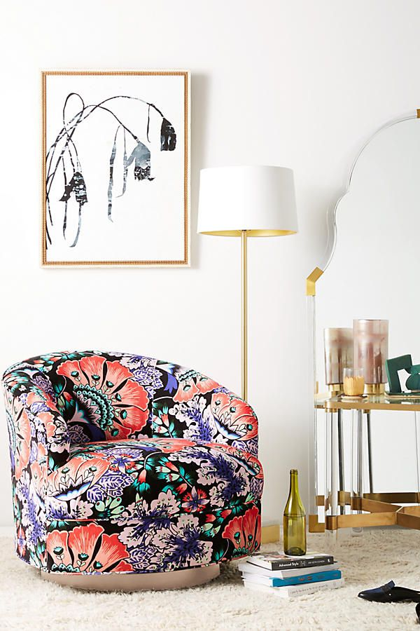 5. Bold Florals - There's never been a better time to add that floral print to every room in your home!From couch cushions to wall art, Summer 2018 is your chance to add the flower-filled decor that you've been dreaming about, but aren't sure whether or not to pull the trigger.Between our Tropical Print recommendation and the Bold Florals trend, you might as well paint your home in floor to ceiling Lilly Pulitzer and call it a day, right? We're only partially kidding. #palmbeachin'