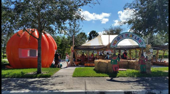 Pumpkin Towne - The PERFECT place to go find yourself some perfect pumpkins and have fun with the whole family! Pumpkin Towne has tons of halloween decorations, hay bales, a bounce house, and a merry-go-round so all the kids can be occupied while you find your perfect pumpkin to decorate ! Pumpkin Towne not only provides some of the most perfect pumpkins, but of course, the BEST photo opportunities !! Need a Christmas card pic while the college kids are finally home for a hot minute? Then Pumpkin Towne will sure meet all your needs with some great spots to capture the entire family ! Head on over, Pumpkin Towne opens the second week of October through Halloween from 9 am to 9 pm so go get yourself some good ones !