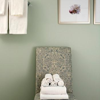 4. Sage - The perfect hue of green to paint a bathroom or open room in. This elegant shade of green is not too bold, but provides a colorful warmth to light up any space.