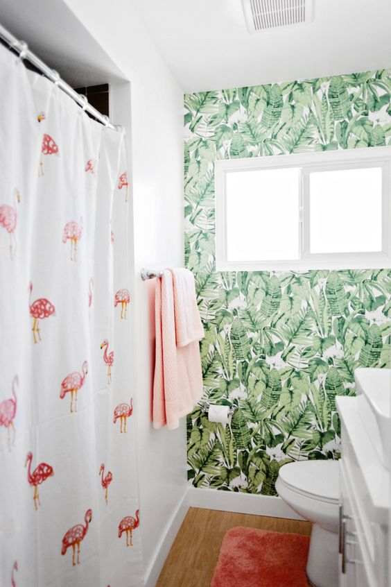 Temporary Wallpaper - Temporary wallpaper is a current trend that is growing in popularity. With easy installation and removal, select your own paint color or design without permanently changing the space! Bring your rooms to life, and easily take it down before moving.