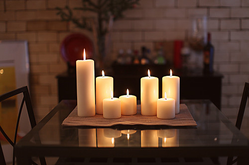 1. Lighting - The lighting in your home can make a huge impression on your guests. Whether it's too harsh or bright will be something extremely noticeable, so you'll want to keep that in mind when replacing light bulbs or fixtures.An easy way to bring comfort to any space is to add candles. A nice smelling candle can change the experience of guests in your home, as the flame and scent can relax anyone in the room.