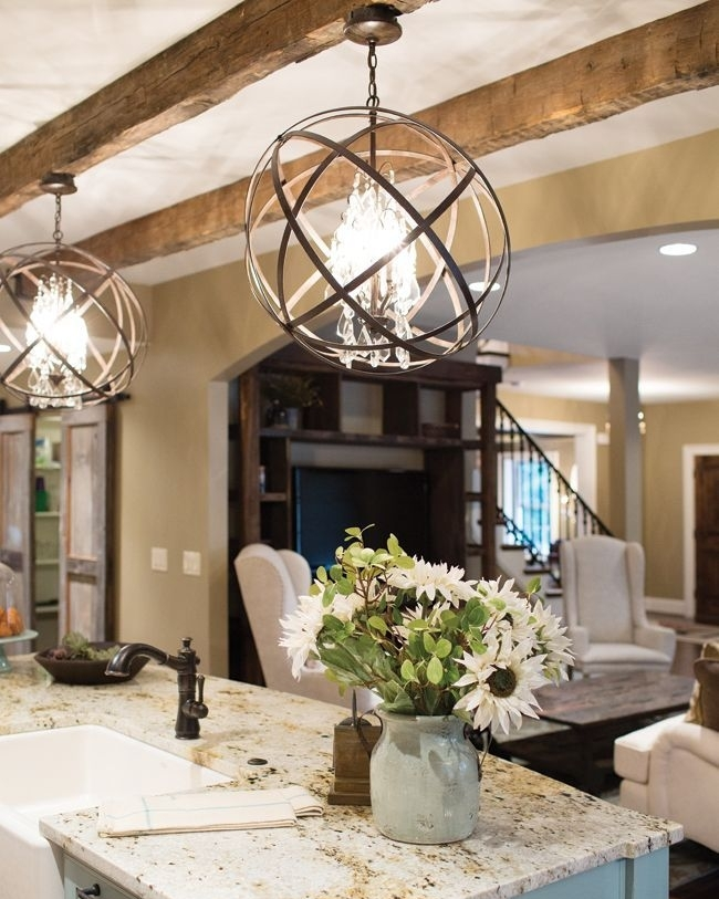 2. Swap a light fixture - Looking for a simple solution to upgrade an outdated room? The answer is: a new light fixture.By swapping out harsh or old lighting, you can change the atmosphere of a space.The right lighting can help you achieve your decor dreams without breaking the bank!