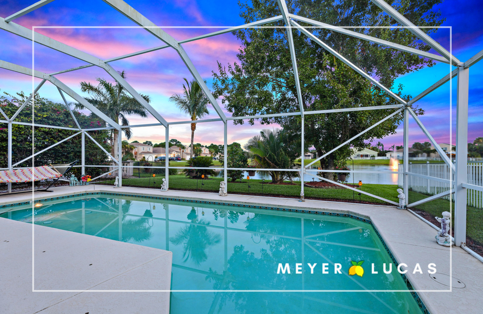 - PRESENTING: Spectacular two-story pool home situated on a lakefront lot in the gated community of Springtree in Stuart, Florida. This home has everything you've been dreaming about, including the opportunity to enjoy those beautiful pink sunsets over a tranquil lake from your backyard.
