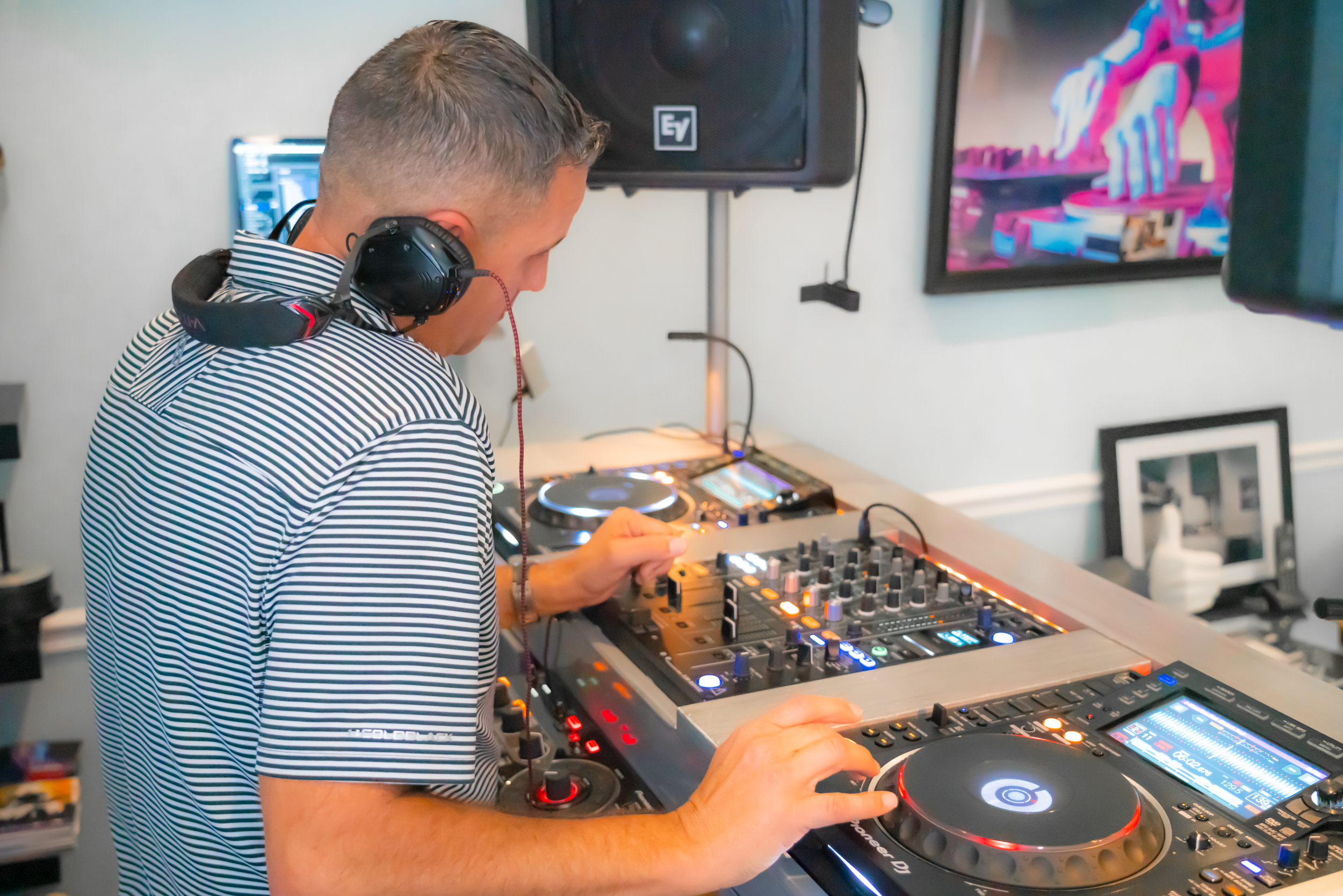 Custom Jupiter Home with DJ  Room