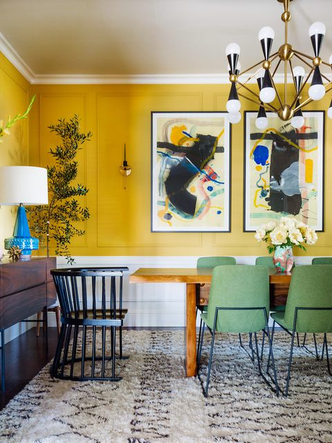 5. Marigold - This is the perfect accent color to add warmth to any room. This sunshine gold uplifts any boring room with a beautiful essence of gold.